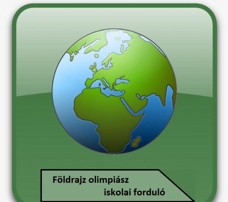 A földrajzi olimpiász iskolai fordulója